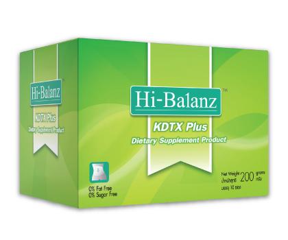 ดีท็อกซ์ ด้วย Hi-Balanz KDTX Plus 5 ซอง (กล่องเล็ก) ซื้อ2กล่องส่งฟรีEMS สำเนา