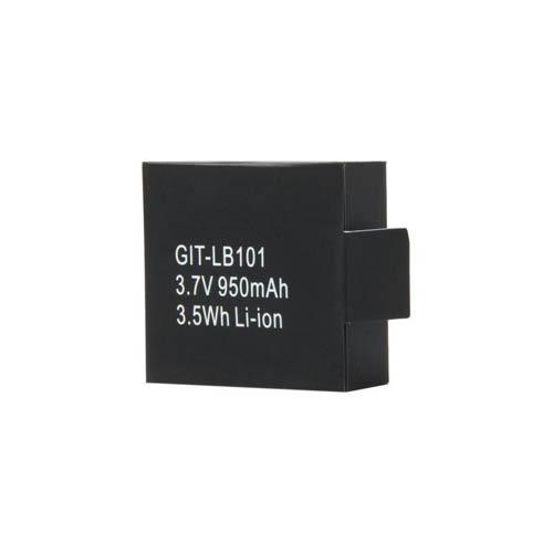 950mAh Li-ion Battery For GitUp GitUp1/Gitup2