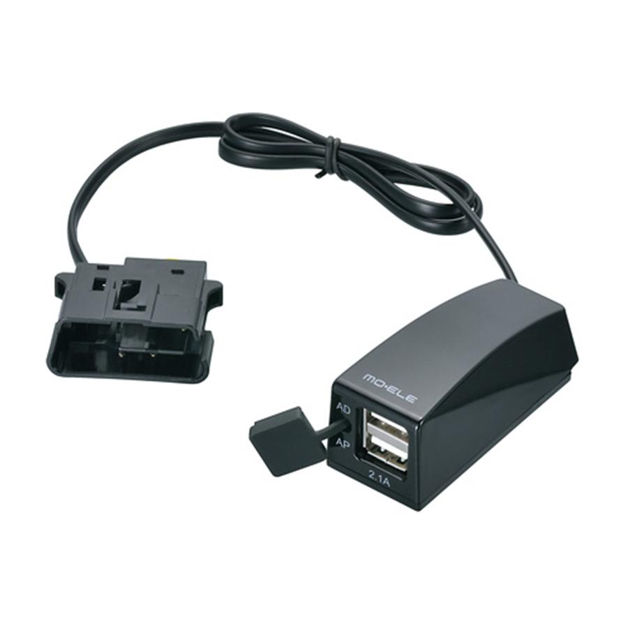 พอร์ท USB ต่อกับขั้วไฟ