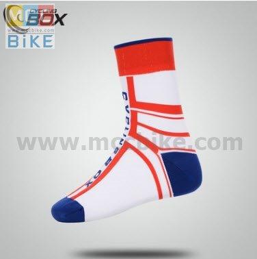 ถุงเท้าจักรยาน ถุงเท้าปั่นจักรยาน แบบยาว CYCLING BOX L3
