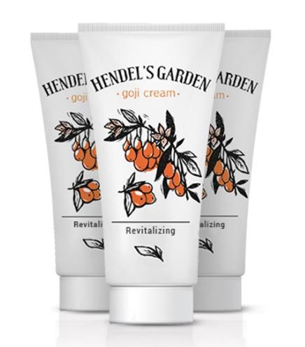 Hendel's Garden Goji Cream (ครีมโกจิ) 30gm ครีมต่อต้านริ้วรอยแห่งวัย ให้ผลที่น่าทึ่งมากกว่าการทำโบท๊อกซ์