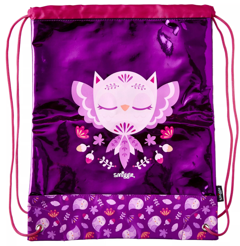 SMB032 กระเป๋า convenient smiggle Into The Woods Drawstring Bag
