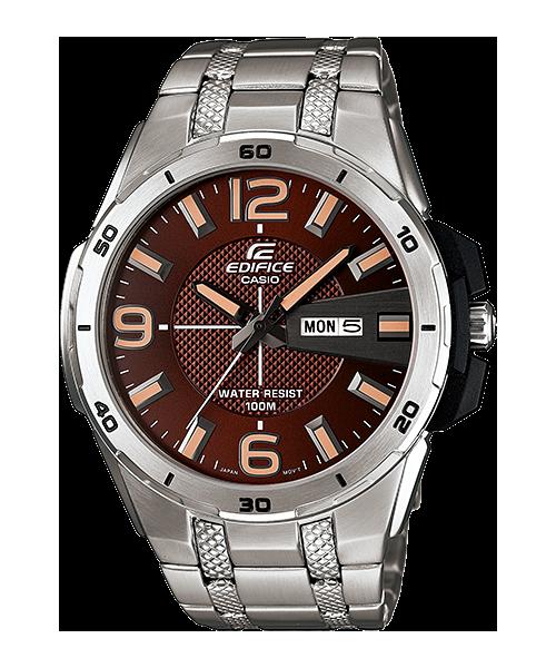 นาฬิกาข้อมือ CASIO EDIFICE 3-HAND ANALOG รุ่น EFR-104D-5AV
