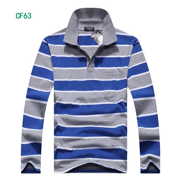 เสื้อยืดคอปก แขนยาว(CF63)