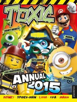 Egmont Toxic Annual 2015 Book : Disney Infinity + LEGO + Skylanders + Mario + Minions หนังสือกิจกรรมปกแข็ง