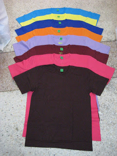 เสื้อผ้าฝ้ายคอตต้อน ยี่ห้อ G7 และ MOS