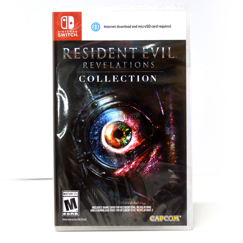 Nintendo Switch™ Resident Evil: Revelations Collection Zone US / English ราคา 1390.- // ส่งฟรี EMS