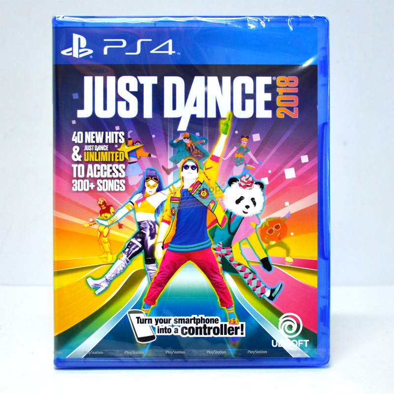 PS4™ Just Dance 2018 Zone 3 Asia, English