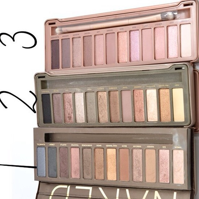 urban decay naked eye shadow palette 1 2 3 smoky. Black Bedroom Furniture Sets. Home Design Ideas