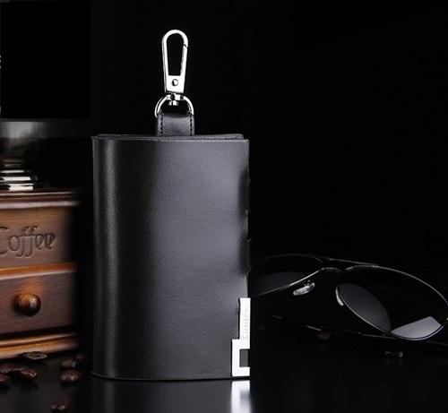 กระเป๋าซองหนังแท้ ใส่กุญแจรถยนต์ Gucci