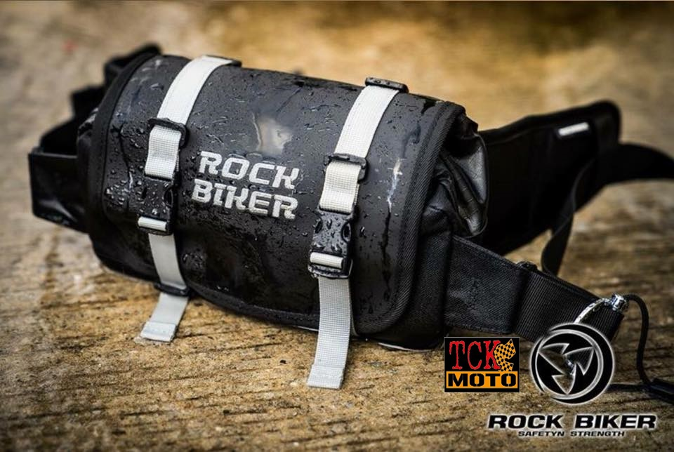 กระเป๋าคาดเอว Rock biker กันน้ำ