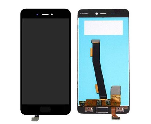 ราคาหน้าจอชุด+ทัสกรีน Xiaomi Mi5s อะไหล่เปลี่ยนหน้าจอแตก ซ่อมจอเสีย สีดำ