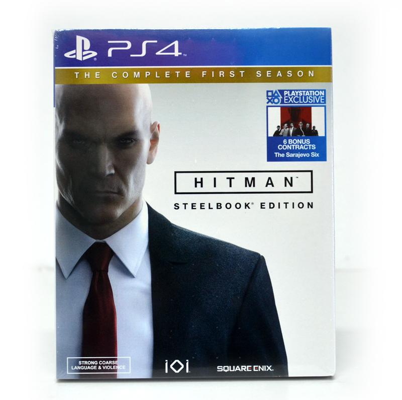 PS4™ Hitman กล่องเหล็ก : The Complete First Season zone 2 eu eng