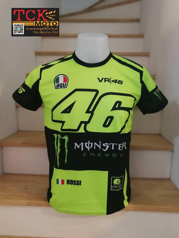 เสื้อยืด monster VR46
