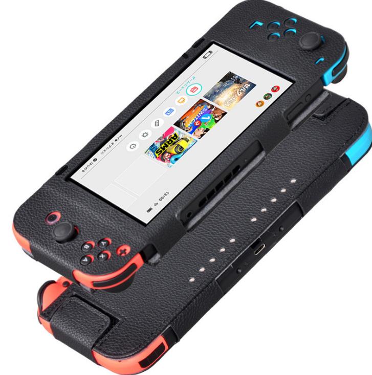 """ซองหนังสำหรับนินเทนโดสวิทช์ Nintendo Switch Softcase """"ขนาดพอดี เปิดปิดง่าย หรูหรา ปกป้องระดับพรีเมี่ยม"""" ราคา 390.-"""