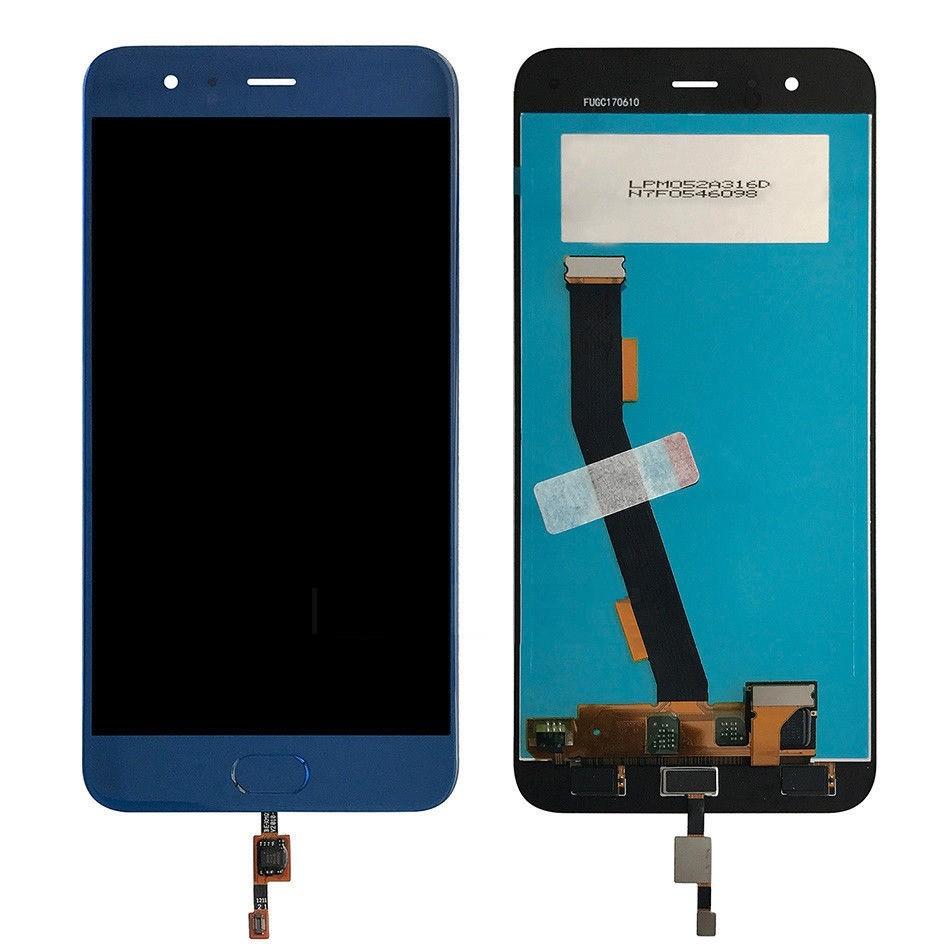 ราคาหน้าจอชุด+ทัสกรีน Xiaomi Mi 6 สีน้ำเงิน แถมฟรีไขควง ชุดแกะเครื่อง อย่างดี