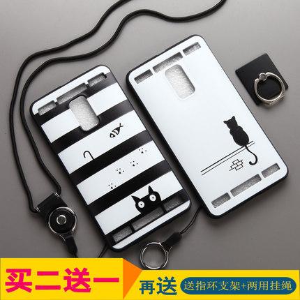 (พรีออเดอร์) เคส Vivo/XPlay 3S-เคสนิ่มลายการ์ตูน พร้อมสายคล้องคอ+นิ้ว