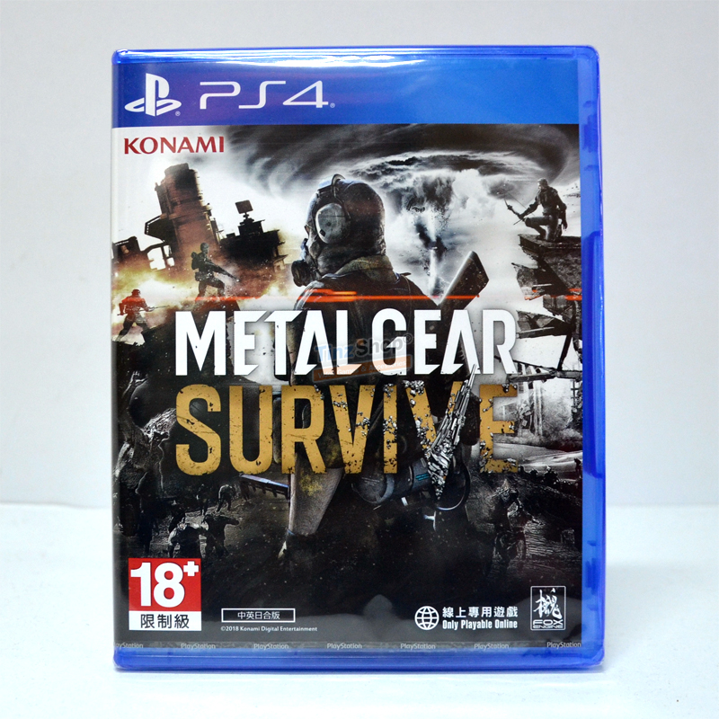 PS4™ Metal Gear Survive Zone 3 Asia / English ราคา 1350.-