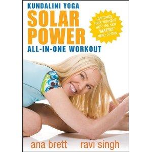 ดีวีดีออกกำลังกาย โยคะ ลดความอ้วน - Kundalini Yoga Solar Power All-In-One Workout ALL LEVELS With Ana Brett