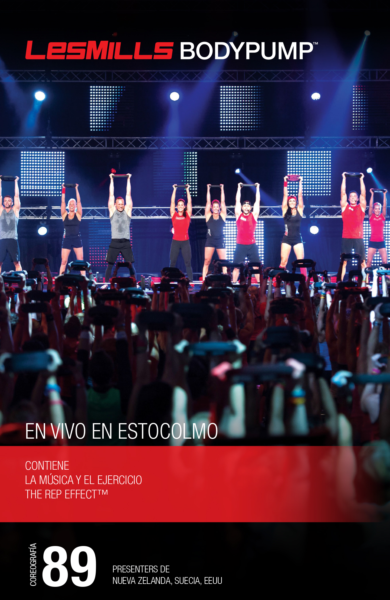 Les Mills - Body Pump 89