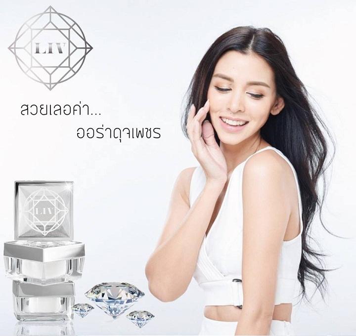 LIV White Diamond ครีม by วิกกี้ สุนิสา เจทท์