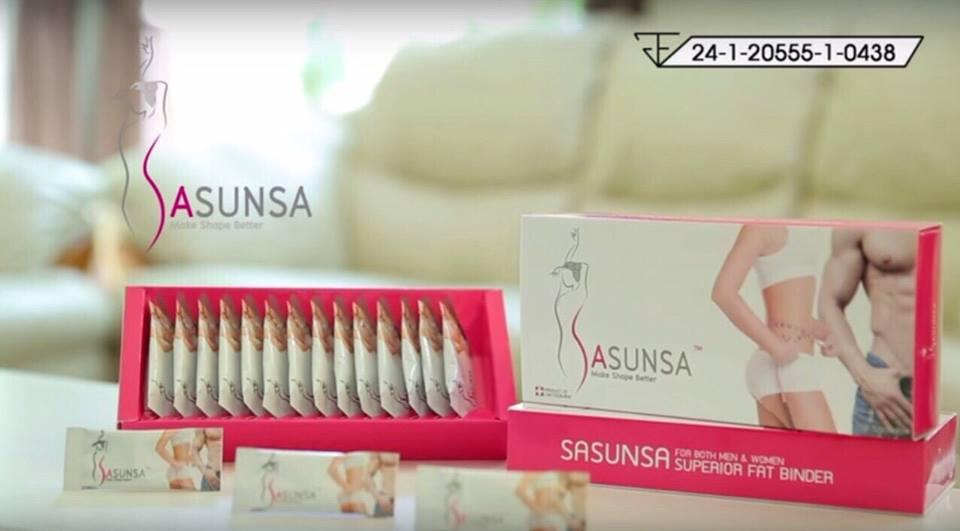 SASUNSA,ซาซันซ๋า,ซาซันซ๋า ลดน้ำหนัก,ขายซาซันซ่า,จำหน่ายซาซันซ่า