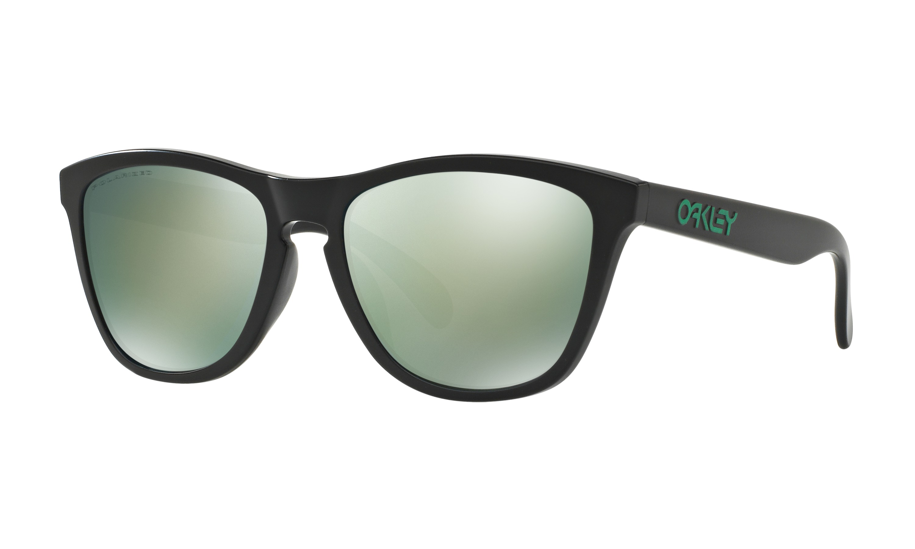 OAKLEY FROGSKINS OO9245-43 Emerald Iridium Polarized (Asian fit)