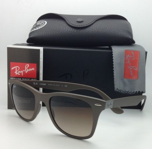 Ray Ban Wayfarer Tech RB4195 6033/13 Brown Gradient 52mm