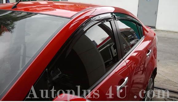 กันสาด Mazda 2 4D