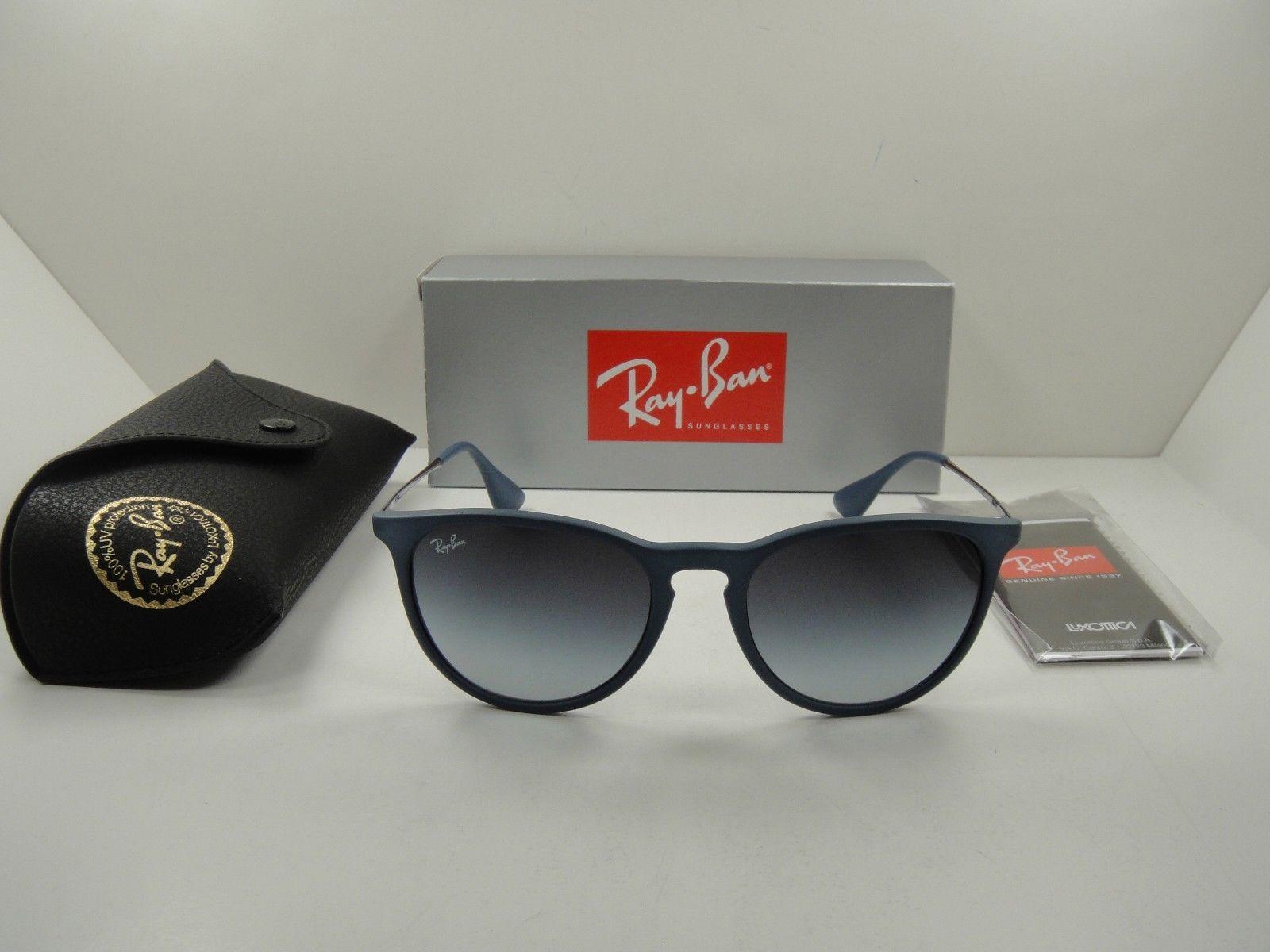 RayBan Erika RB4171F 60028G BLUE FRAME/GRAY GRADIENT
