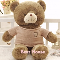 ตุ๊กตาหมีชุดกันหนาว ขนาด 0.8 เมตร