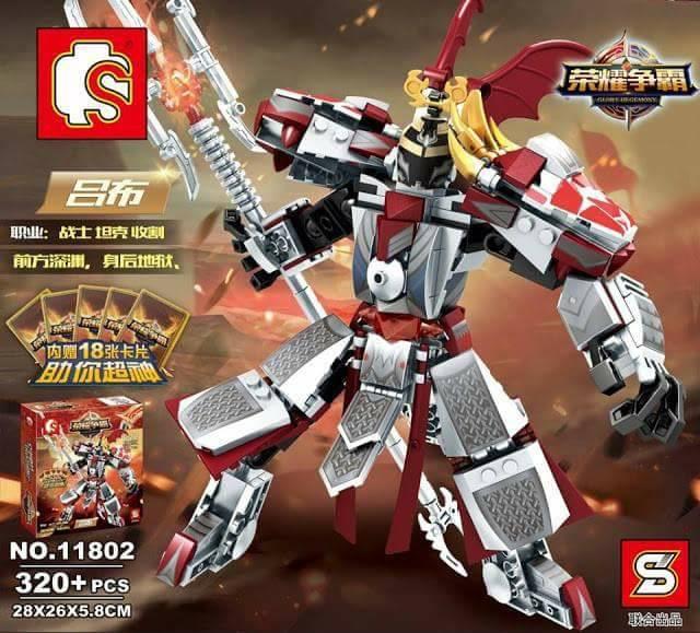 เลโก้จีน SY.11802 ชุด Glory Hegemony
