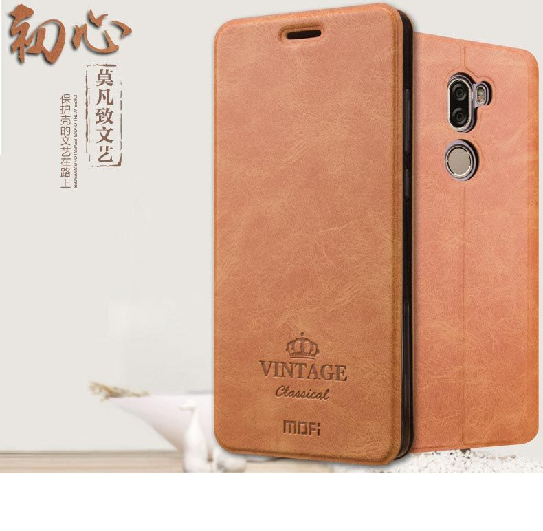 เคส Xiaomi Mi5s Plus ฝาพับหนังอเนกประสงค์ MOFI