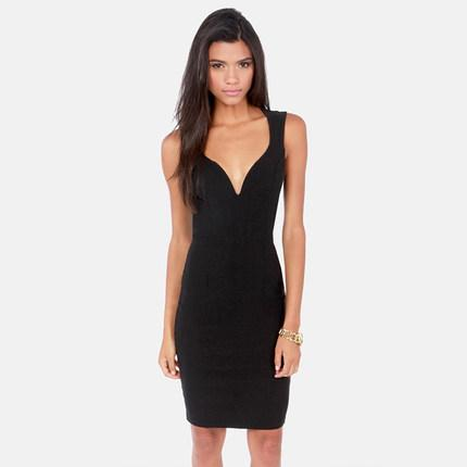 **พรีออเดอร์** ชุดเดรสผู้หญิงแฟชั่นยุโรปใหม่ แขนกุด แบบเก๋ เท่ห์ / **Preorder** New European Fashion Slim Sleeveless Dress