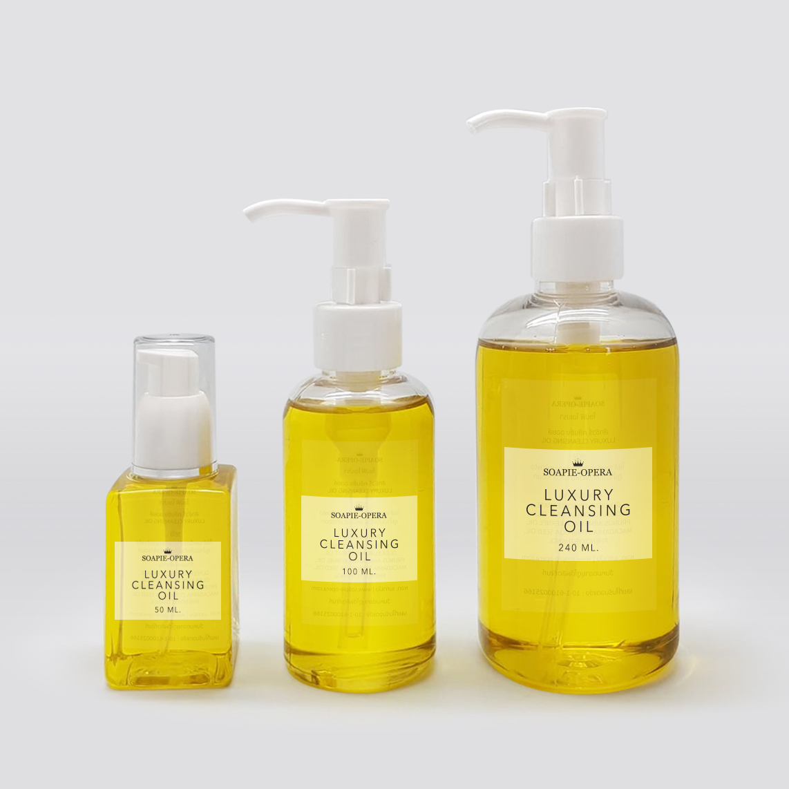 Luxury cleaning oil 50 ml