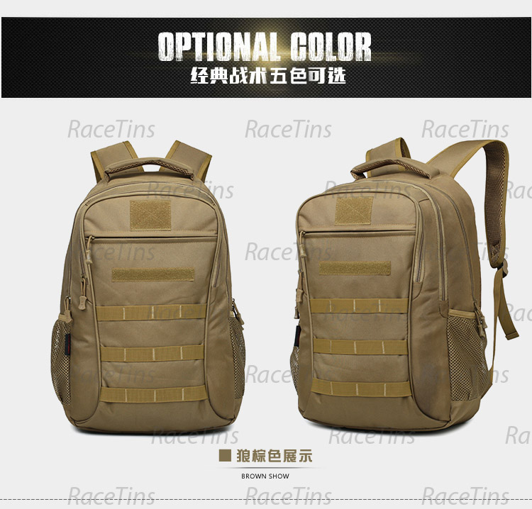 Cool Walker 6836 เป้เทคติคอล กระเป๋าเป้สะพายหลัง Travel Backpack Bag Advanced Tactical Outdoor Military
