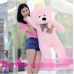 ตุ๊กตาหมียิ้ม pink 1.2 เมตร