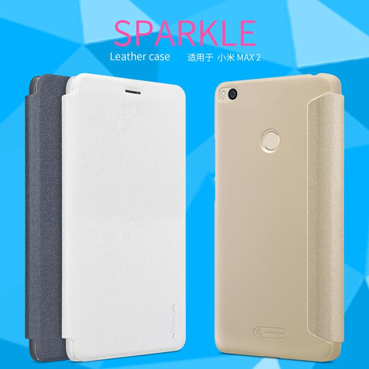 เคส Xiaomi Mi Max 2 Nillkin Sparkle Leather Case