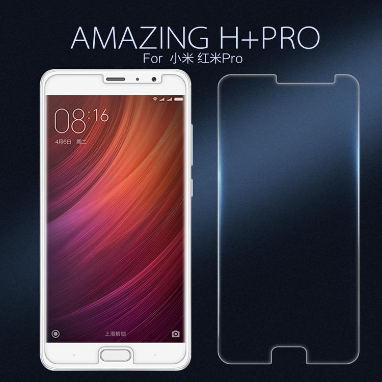 Xiaomi Redmi Pro ฟิล์มกระจกนิรภัย Nillkin H+ Pro บาง 0.2mm (ไม่เต็มจอ)