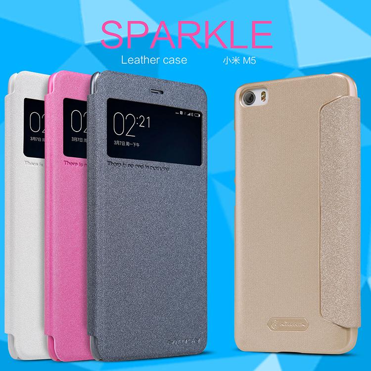 เคส Xiaomi Mi5 - Nillkin Sparkle Leather Case