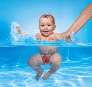 เด็กว่ายน้ำต้องมีผู้ใหญ่ดูแล