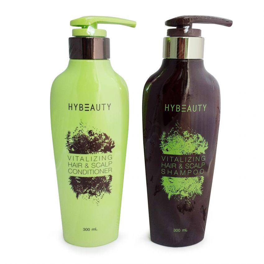 HyBeauty Vitalizing Hair & Scalp Shampoo แชมพู Hybeauty แชมพูสมุนไพรบริสุทธิ์เข้มข้นจากเกาหลี ของแท้ ราคาถูก ปลีก/ส่ง โทร 089-778-7338-088-222-4622 เอจ