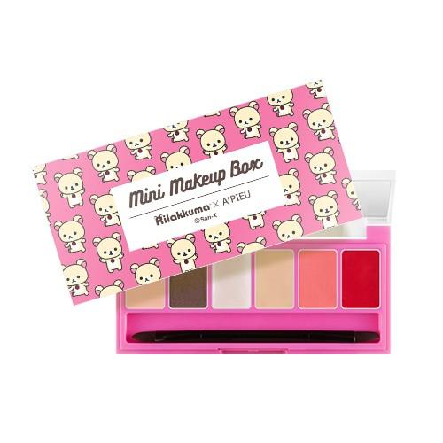A'PIEU Mini Make Up Box Rilakkuma Edition [No.2 Chic & Classic]
