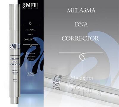MF3 MELASMA DNA CORRECTOR นวัตกรรมลดจุดด่างดำที่มาพร้อมกับเครื่องมือที่ใช้ง่าย มีความแม่นยำสูง applicator สามารถส่งผ่านตัวยาปริมาณเข้มข้นตรงจุด