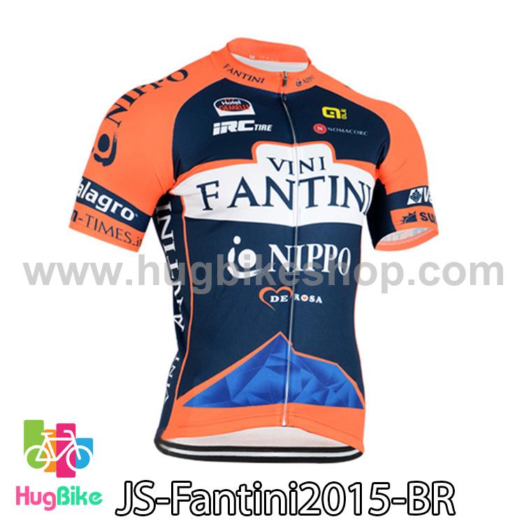 เสื้อจักรยานแขนสั้นทีม Fantini 2015 สีน้ำเงินแดง สั่งจอง (Pre-order)