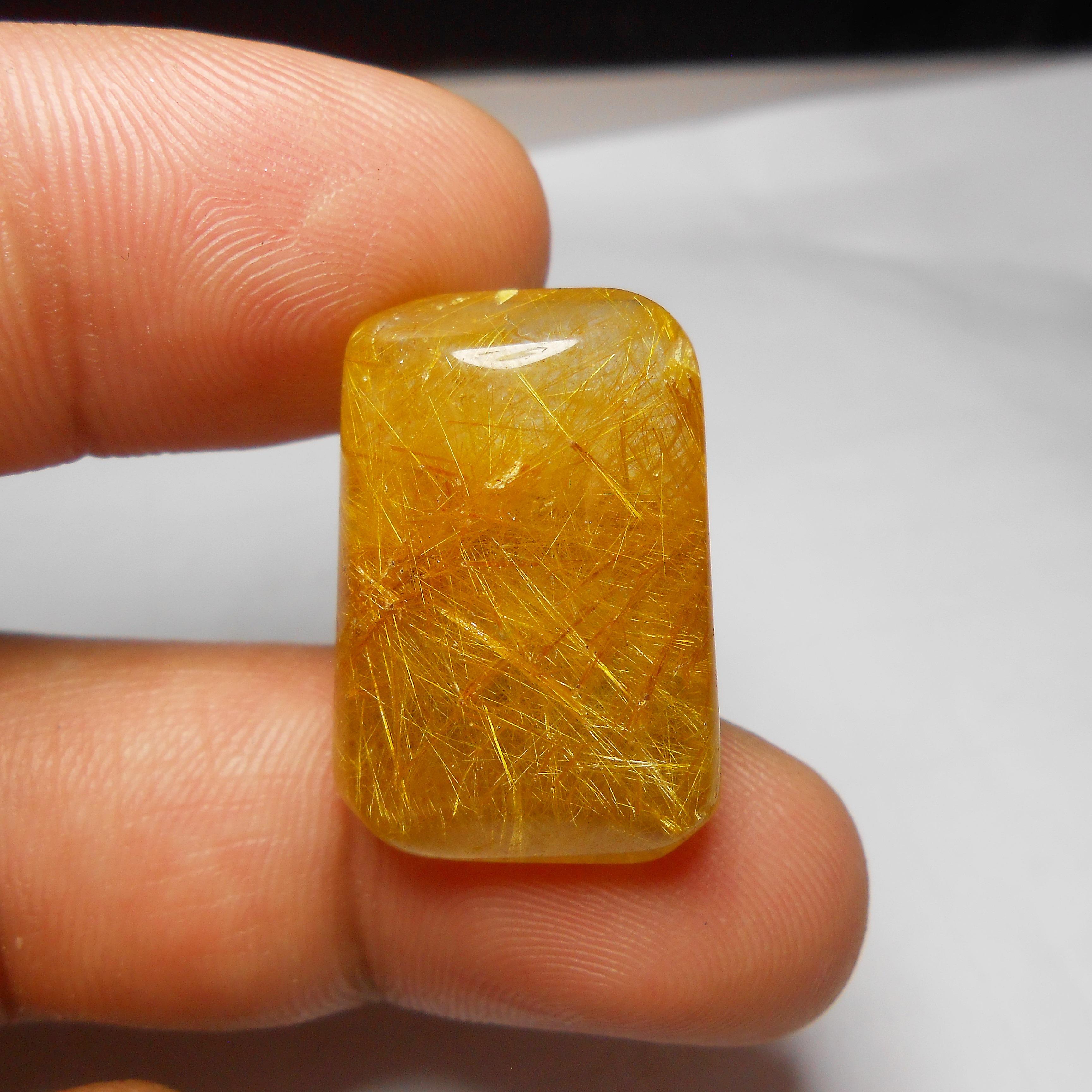 แก้วไหมทอง ขนาดสะสม เส้นสวย ขนาด 2.6x 1.8 mm สำเนา
