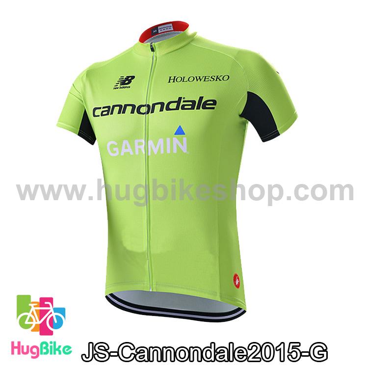 เสื้อจักรยานแขนสั้นทีม Cannondale 2015 สีเขียว สั่งจอง (Pre-order)