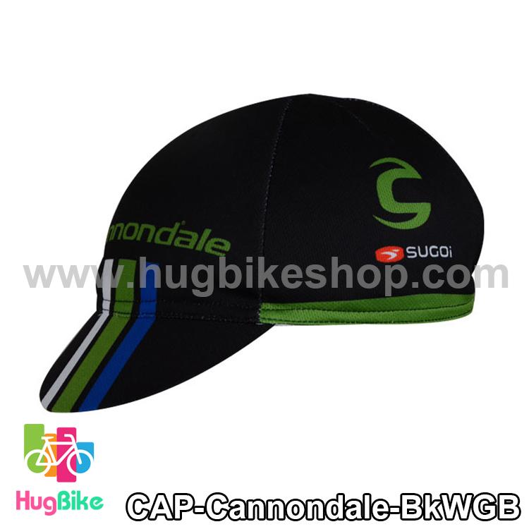 หมวกแก๊บ Cannondale 14 (03) สีดำขาวเขียวฟ้า