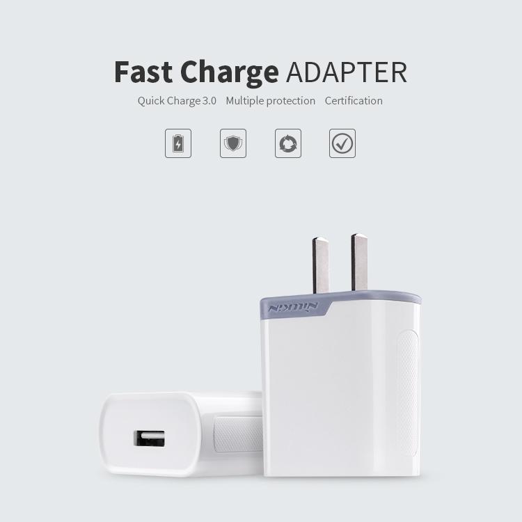 หัวชาร์จไว Nillkin Fast Charge ADAPTER 3.0
