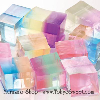 พร้อมส่ง ** Bicolor Water Expanding cubes เม็ดบอลแช่น้ำแล้วพองตัว ทรงสี่เหลี่ยม สองสีในก้อนเดียว *เป็นของเล่น ทานไม่ได้*